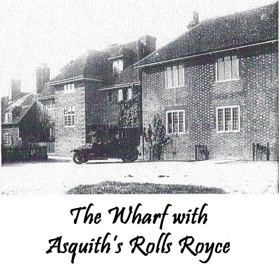 The Wharf with Asquith's Rolls Royce