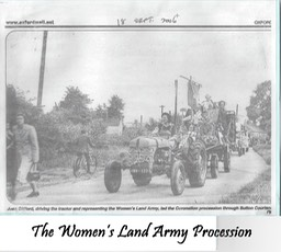 Women's Land Army Procession